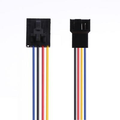 5Pin to 4Pin Fan Connector Adapter Converter Extension Cable Wire for Dell JF#E