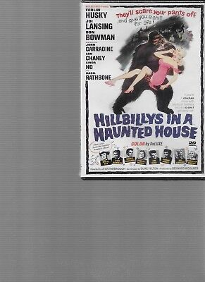 Hillbillies in a Haunted House NEW SEALED HORROR   DVD