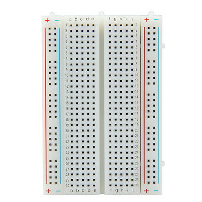 Mini Solderless Breadboard Bread Board 400 Contacts Points Available PCB Test