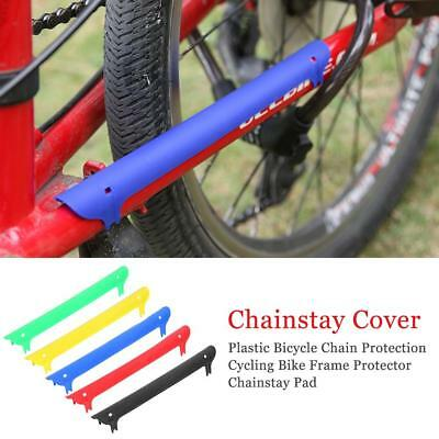 Bicycle Chain Stay Plastic Protector Cycling Bike Frame Chainstay Rear Fork Pad