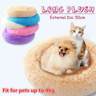 AU Pet Dog Cat Large Plush Bed Sofa Lounge Couch Mat Blankets Puppy Cushion