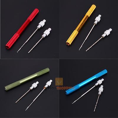 2 In 1 Carp Fishing Rigging Tackle Aluminum Alloy Bait Needle Drill Kit Tool Set