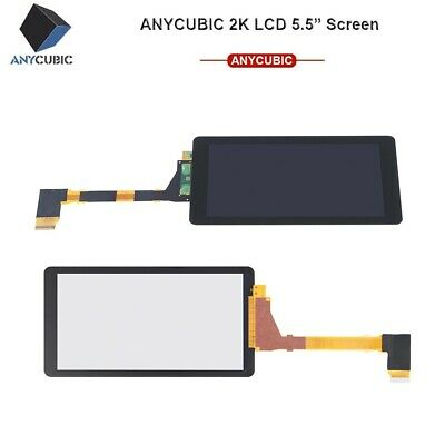 "Anycubic 5.5"" LCD Module 2K Light Curing Display Screen For Photon 3D Printer EU"