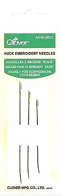 Clover Huckaback Embroidery Needles