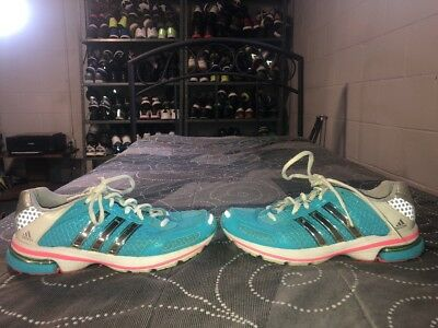 huge discount 3cd7b 04fc8 Adidas Supernova Glide 4 Womens Running Training Shoes Size 7.5 Blue Pink  Silver