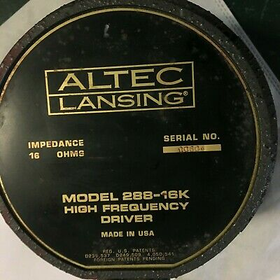 Altec Lansing  288-16K High Frequency Driver