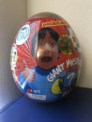 Ryan's World Giant Gold Mystery Egg Toy Limited Rare Surprise Toys