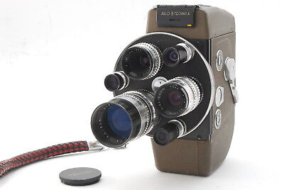 【RARE NEAR MINT】ARCO 8 TECHNICA 8mm Movie Camera Fully Working Condition