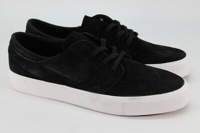 separation shoes 37629 4c6ef Nike Zoom Stefan Janoski Prem HT Men s Black White Sneakers