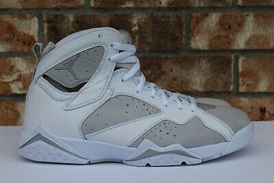 sports shoes 2cf55 4711e Men s Nike Air Jordan 7 VII Retro Pure Money White Silver Size 11.5 304775- 120