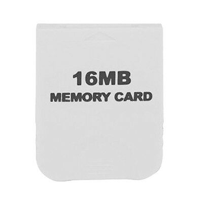 Hot Sale Useful White 16MB Memory Card For Nintendo Wii Gamecube GC Game
