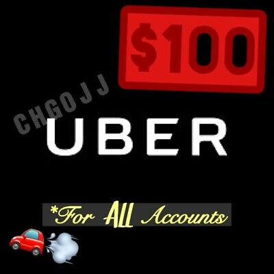 $100 In Unique Uber Codes (20 x $5 Off Ride) - Works 4 ALL Users