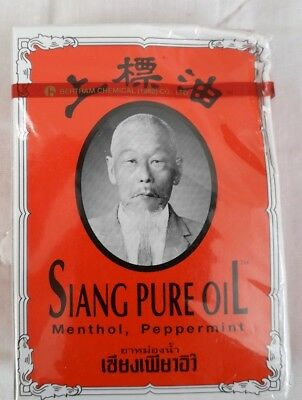 7Cc Red Siang Pure Oil Peppermint Menthol Muscle Relief Pain And Dizziness