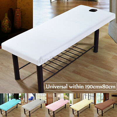 190x70cm Massage Bed Cover Table Elastic Fitted Spa Bed Sheet Salon  Couch Cover