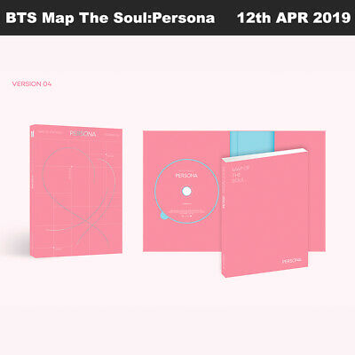 BTS MAP OF THE SOUL : PERSONA Album Ver4 CD+Photobook+Card+Etc+Tracking Number