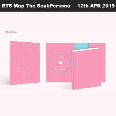 BTS MAP OF THE SOUL : PERSONA Album Ver1 CD+Photobook+Card+Etc+Tracking Number