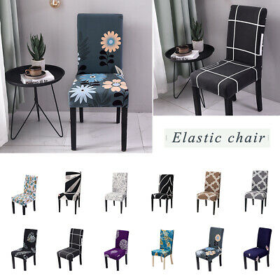 Stretch Spandex Chair Covers Slipcovers Dining Room Wedding Banquet Decor IB