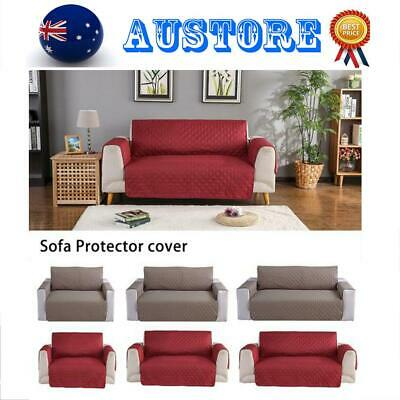 Couch Sofa Protector Lounge Cover Anti-slip Slipcover For Pet Kid 1/2/3 Seat