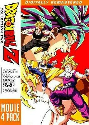 Dragonball Z: Movie Pack 2, DVD, 2011, UPC 704400088872