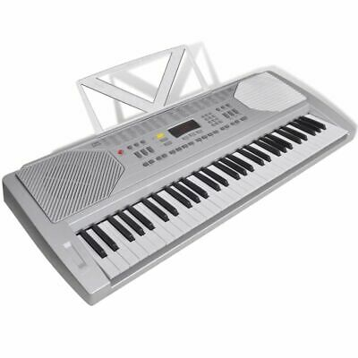 61 Piano-key Electric Keyboard with Music Stand K7D1