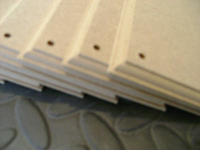 """4 x PLAQUES  MDF 8"""" x 4""""   WOODEN SIGNS PLAIN PLAQUES BLANKS CRAFT"""