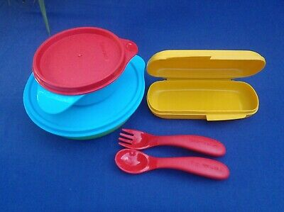 Tupperware Grow With Me Feeding Set - Brand New in Box