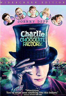 Charlie and the Chocolate Factory, DVD, 2009, UPC 012569593374