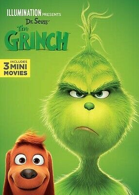 Dr. Seuss' The Grinch, DVD, 2019, UPC 025192367977