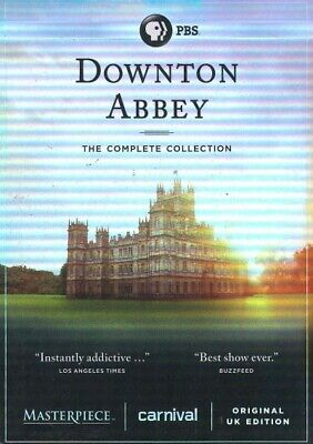 Downton Abbey: The Complete Collection, DVD, 2016, UPC 841887028646