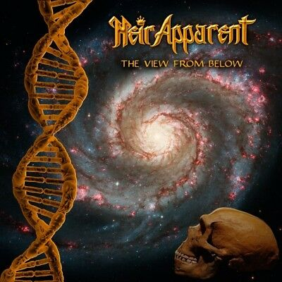 HEIR APPARENT - The View From Below LIM.300 BLACK V.*US MELODIC PROG/POWER METAL