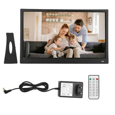 "15.6"" HD Movie Player Digital Bilderrahmen Photo Frame Album Fernbedienung"