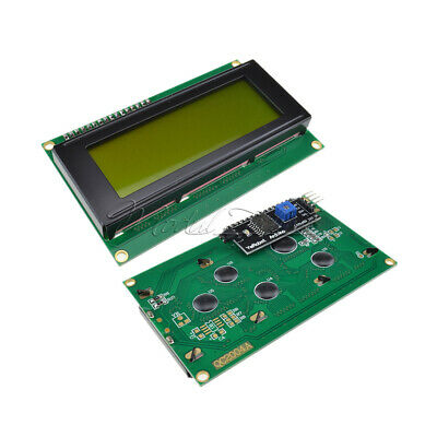 IIC/I2C/TWI/SP​​I Serial Interface 2004 Character LCD Module Yellow Backlights