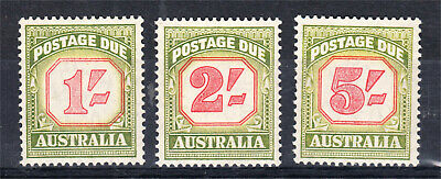 Postage Dues 1953-4 Mint Unhinged 1/- + 2/- + 5/-. (L82)