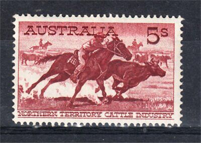 1961 5/- Cattle Mint See Desc (L88)