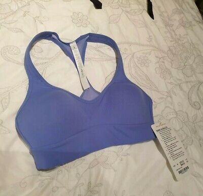 Lululemon Speed Up Bra C/D horizon blue Size AUS 8  (CAN 4) - NEW WITH TAGS NWT