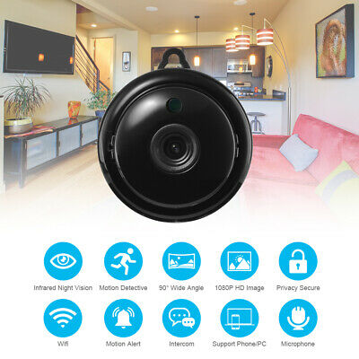 HD 1080P Mini TELECAMERA WiFi IP Camera di sicurezza SPY Hidden Wireless AH501