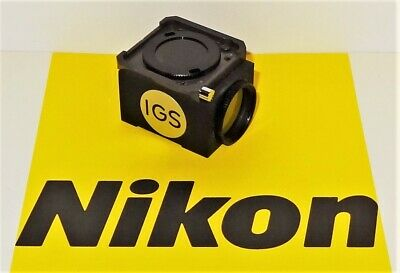 Nikon IGS Fluorescent  Microscope Filter Cube for Labophot, Optiphot, Microphot