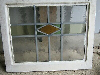 Stained Glass Window Panels 10 , All In Wooden Frames , 2 sizes leaded