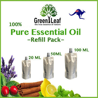 Essential Oils 100% PURE-Natural Carrier Oils Aromatherapy Aroma Oil Refill-Pack