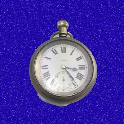 Stunning 15 Jewel LNER Railway Rail Road Selex Pocket Watch  ca. 1925