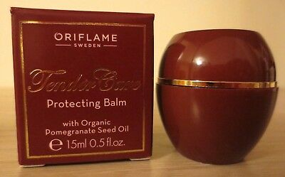 Oriflame Tender Care Protecting Balm Organic Pomegranate Seed Oil 15ml 0.5oz