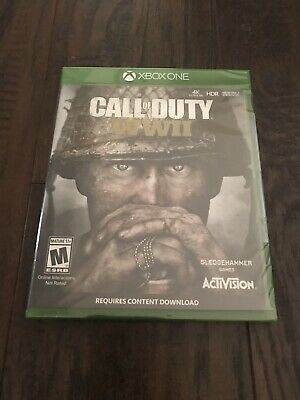 Call of Duty: WW2 XBOX ONE New Free Shipping! Brand New! Factory Sealed!