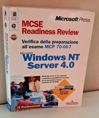 MCSE Readiness. Review esame 70-067 MS Windows NT Server 4.0 + CD ROM - ITALIANO