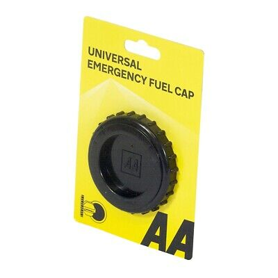 AA Universal Emergency Temporary Replacement Fuel Cap Car Vehicle Petrol Diesel