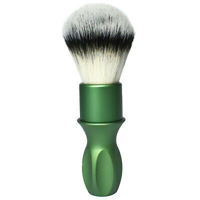 Rubberset 400 Tribute Green Synthetic Vegan Shaving Brush
