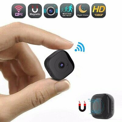 Mini Spy Nascosta Telecamera Wireless Wifi IP Spia Full HD Video DV Micro Camera