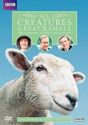 All Creatures Great & Small: The Complete Series 6 Collection, DVD, 2010, UPC...