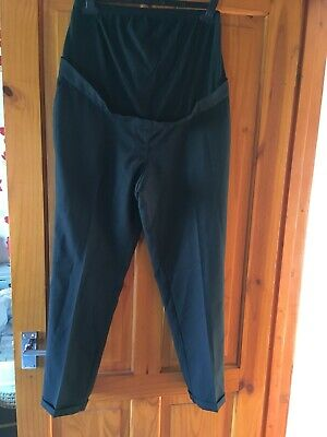 NEW Ladies Black Trousers Maternity Size 12 New Look