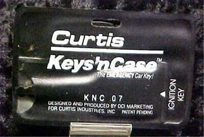 Curtis Keys'n Case Ignition Emergency Keys-Vintage-Original Holder  #7889