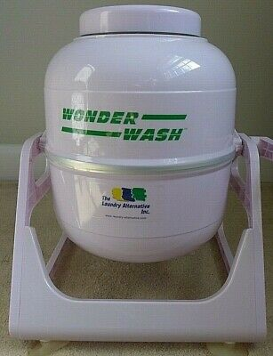 The Laundry Alternative The Wonder Wash Compact Portable Washing Machine - White